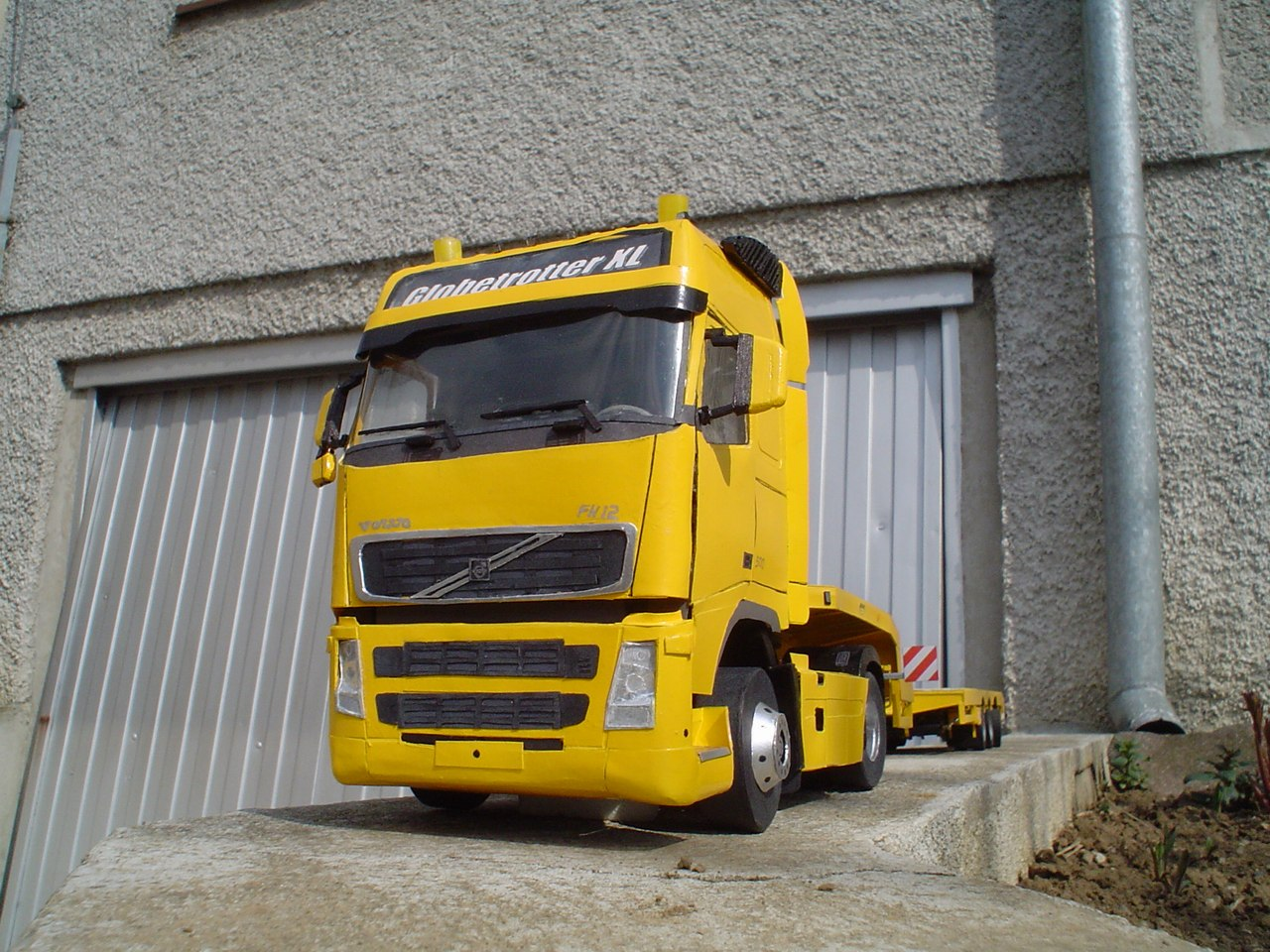 Heavy Transport Machinery Models By Peter Jankovic Truck 2000 Volvo Electrical Wiring Wheel Nuts Tires With Tread And Signs Detailed Chassis Of The Trailer Air There Is A Functioning Extension Length